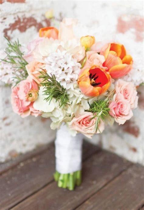 wedding flower inspiration tulips