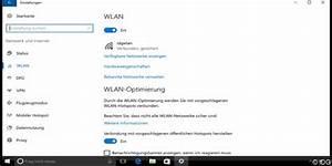 Neues Netzwerk Einrichten : wlan verbindungen in windows 10 einrichten pc welt ~ Watch28wear.com Haus und Dekorationen