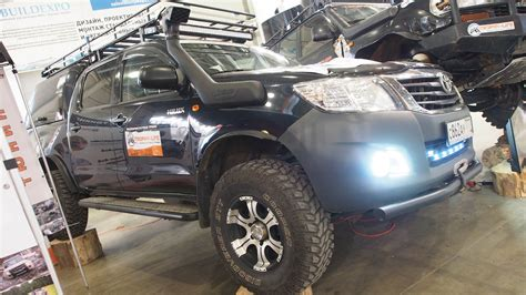 Toyota Hilux Lifted Offroad Tuning