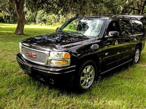 Find Used 2006 Black Gmc Yukon Xl Lwb 4x4 Denali 74,000