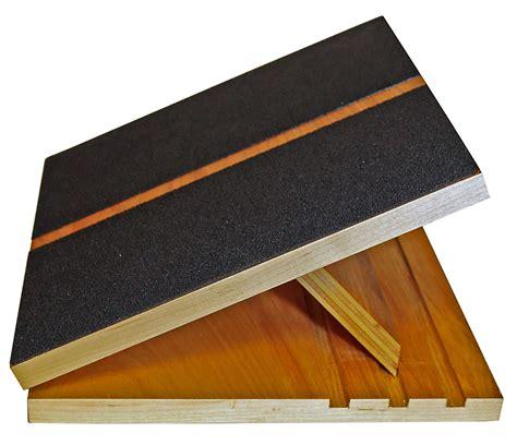"Slant Board, Adjustable Incline Calf Stretch, 11"" X 12"", 3"