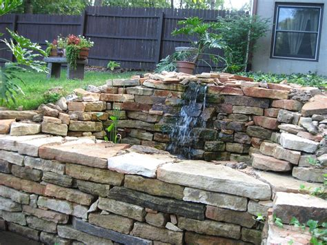 rock wall ideas stacked stone wall ideas from gottschalk quarry