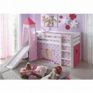 Lit Princesse 90x190 : finest lit de princesse avec tour et tissu rose lit une ~ Teatrodelosmanantiales.com Idées de Décoration