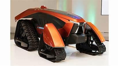 Kubota Tractor Electric Prototype Autonomous Farm Equipment