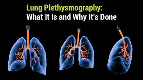 Lung Institute  Lung Plethysmography What It Is And Why