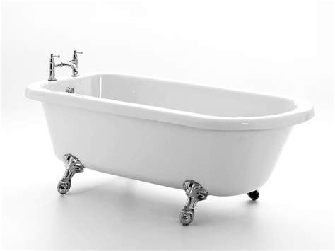freistehende acryl badewanne freistehende badewanne derry acryl oval eckig nostalgie 166 5 cm gl 228 nzend