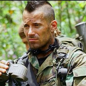Johnny Messner's mohawk in Tears of the Sun. One of the ...