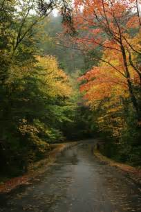 Images of Fall in the Country in the Maine Roads