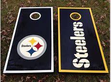 Steelers Cornhole boards Contact jason