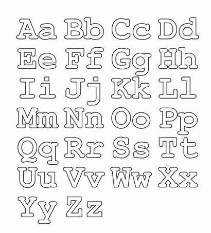 Coloring Pages Alphabet Fun Abc Letters Letter