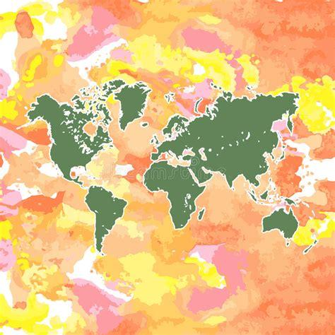 hand drawing grunge europe map isolated stock illustration