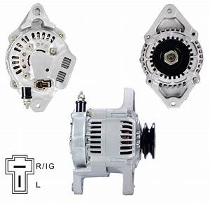 China 12v 40a Alternator For Hitachi Yanmar Lester 12112