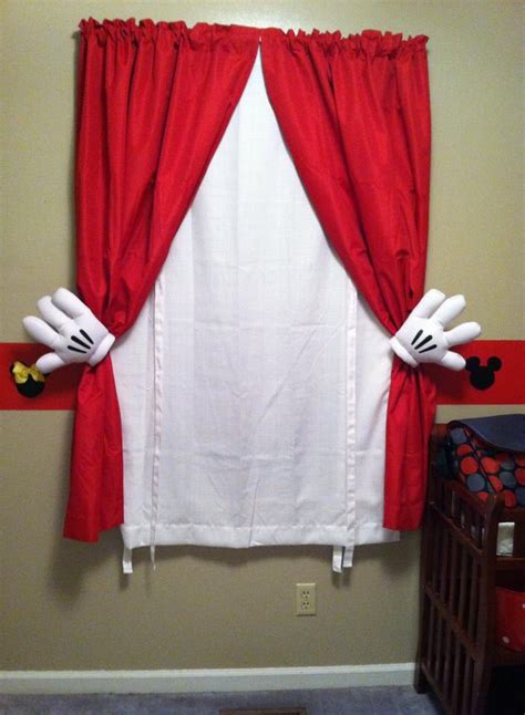 Mickey Mouse Bedroom Curtains by 25 Best Ideas About Mickey Mouse Nursery On