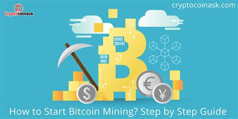 Our guide on starting a bitcoin mining business covers all the essential information to help you decide if this business is a good match for you. Bitcoin Mining: How to Start Beginner's Guide - Cryptocoinask