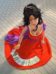 Esmeralda Red Dress Cosplay