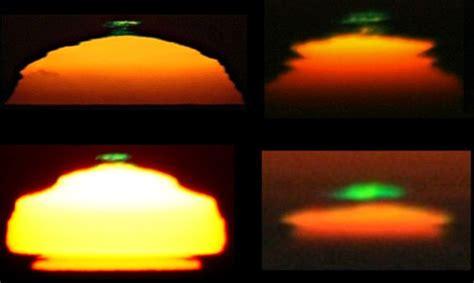 bucket list object   green flash  minute astronomer