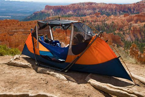 Best Cing Hammock Tent by Best Of Many Worlds A Hammock That Needs No Trees And Is