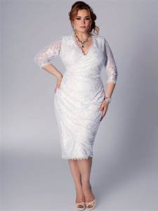 wonderful photos of plus size short lace wedding dresses With plus size short wedding dresses
