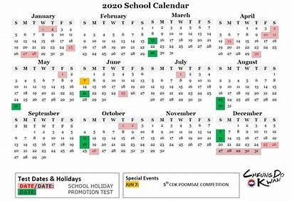 Calendar Hong Kong Update Kwan Cheung Taekwondo