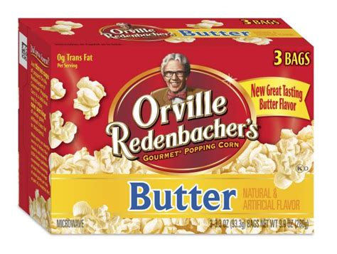 Orville Redenbacher and ACT II Popcorn - Diacetyl Free ...