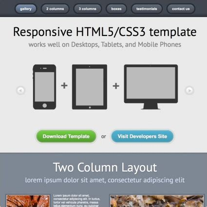 blank template html5 1 responsive responsive template free website templates in css html