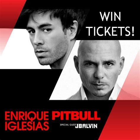 Enrique Iglesias & Pitbull Concert - Win Tickets! | Hudson ...
