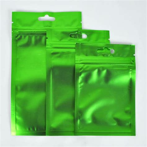 colored zip lock bags variety of sizes colors for 100 pcs flat clear silver