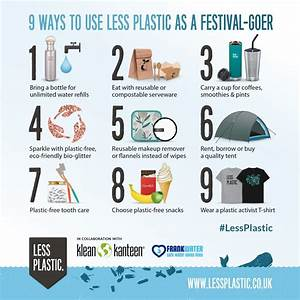 9 Ways To Use Less Plastic As A Festival-goer