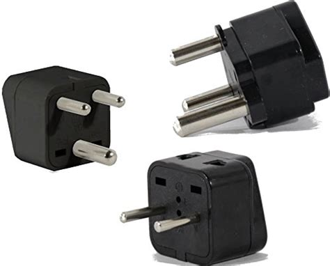Us To India Travel Adapter Plug For Usa/universal To Asia
