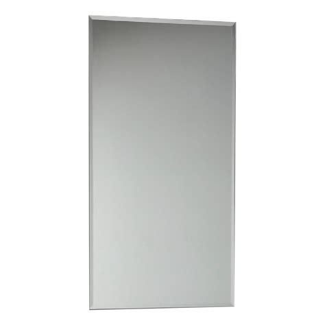 mirrors plumbing world clearlite mm bevelled edge mirror