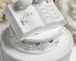 western cake topper verse bible cake topper with doves and hydrangea