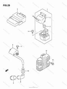 Suzuki Atv 2007 Oem Parts Diagram For Electrical
