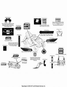 Troy Bilt 13cx79kt011 Horse Xp  2015  Parts Diagram For