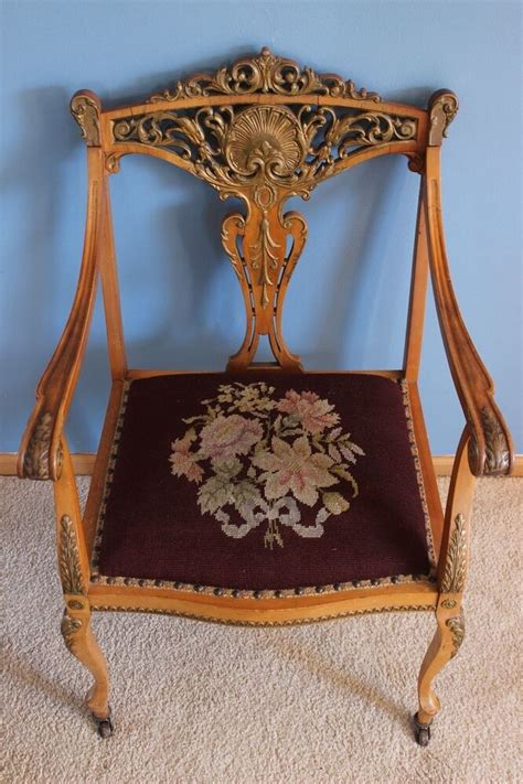 antique wooden settee antique settee chair highly detailed wooden