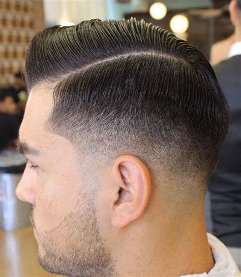 Low Fade Haircut Beard