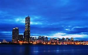 South Korea, Seoul, Skyline
