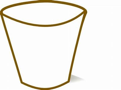 Cup Empty Clipart Plastic Clear Science Glass