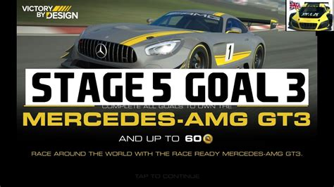 Real Racing 3 Victory By Design Stage 5 Goal 3 Mercedes