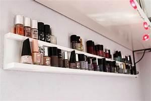 Nagellack Regal Ikea : my nail polish shelf kathastrophal ~ Markanthonyermac.com Haus und Dekorationen