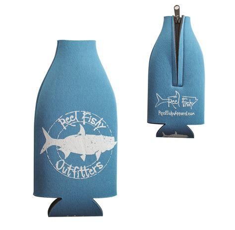 reel koozies bottle fishy fishing outfitters tarpon reelfishyapparel koozie