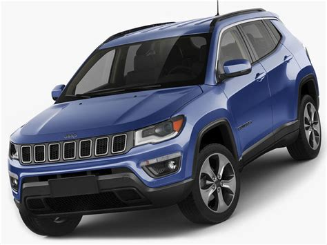 jeep new model 2017 3d model jeep compass 2017 cgtrader