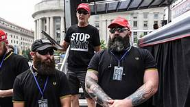 Proud Boys rally in Portland