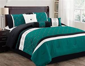 Cheap, Teal, Bedding, Sets, With, More, U2013, Ease, Bedding, With, Style