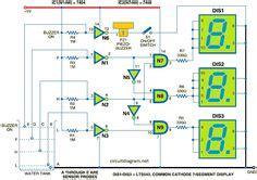 digital voltmeter using icl7107 electronic circuits pinterest digital diy electronic
