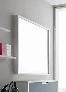 Spiegel Weiß Holzrahmen : cinquanta q viereckiger spiegel mit holzrahmen 100x100 cm verschiedene farben sediarreda ~ Indierocktalk.com Haus und Dekorationen