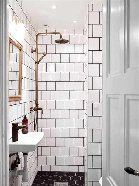 Black And White Tile Bathrooms Black And White Bathrooms My Paradissi
