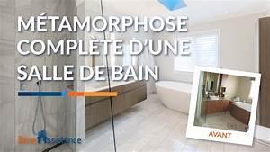 Rénovation Salle De Bain Avant Après : salle de bain moderne avant apr s visite r novation ~ Dallasstarsshop.com Idées de Décoration