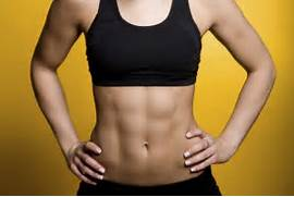 woman-six-pack-abs   W...