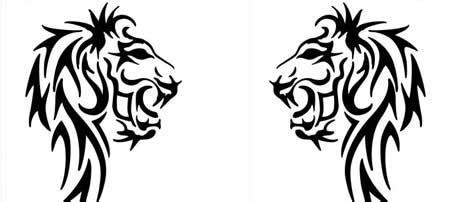 tattoo designs  editable vector format