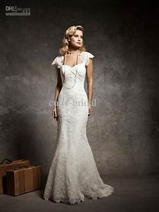 lace sheath wedding dress lace cap sleeves sheath bridal With sheath wedding dress with sleeves